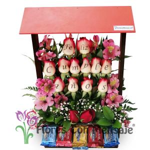 arreglo floral cumpleaños