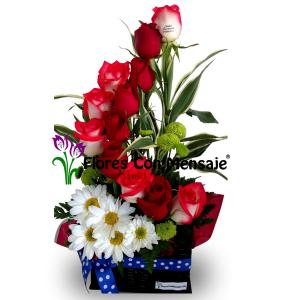 Arreglos Florales A Domicilio En Guatemala Flores Con Mensaje