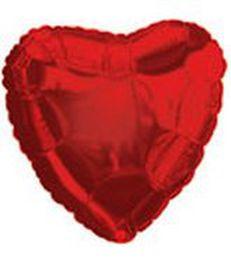 Corazon rojo liso