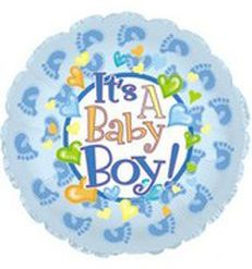 it's a boy huellas
