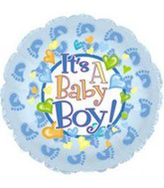 it's a boy huellas