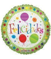 Felicidades con globos