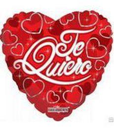 Te Quiero, corazones rojos