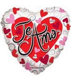 Te amo, corazon y corazoncitos