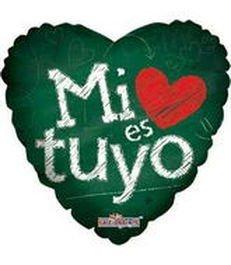 Mi corazon es tuyo, verde