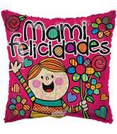 Globo cuadrado Mami Felicidades 35133