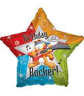 Globo estrella Garfield Happy birthday 815255
