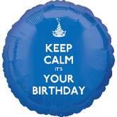 Globo keep calm its your birthday