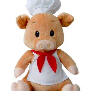 "Cerdito chef 10"" (25cm)"