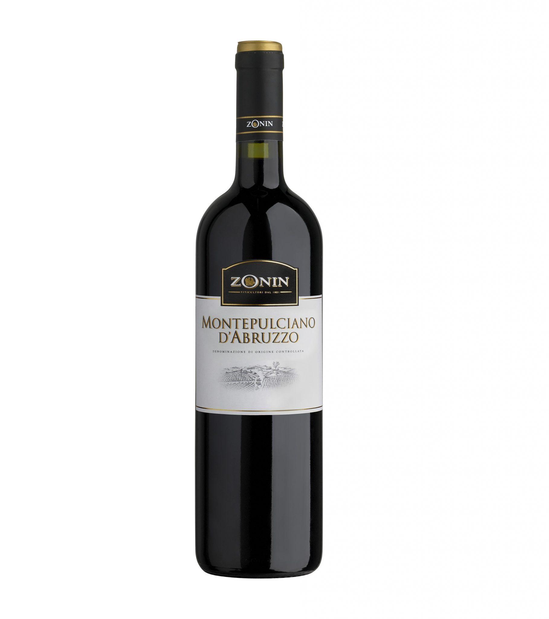 Vino italiano Montepulciano D'abruzzo