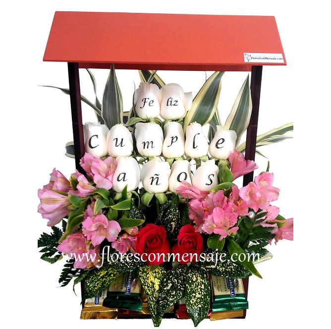 Arreglos florales a domicilio en Guatemala | Flores Con Mensaje