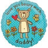 23851 love you beary much daddy